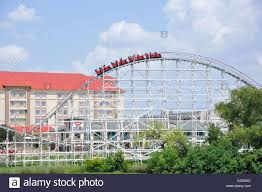 Sox Flags Over Texas Six Flags Over Texas Accommodations And Rides Fort Worth Stock