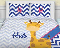 Chevron Bedding For Girls by Giraffe Bedding Etsy