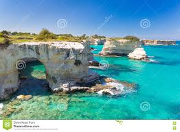 Cliffside Restaurant Italy by Salento South Italy Beach Stock Photos Images U0026 Pictures 224