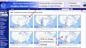 Awc Map Awc Extended Convective Forecast Product Ecfp