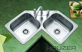 double sinks kitchen kitchen elegant corner kitchen double sink with green countertop