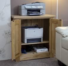 Printer Storage Cabinet Stunning Torino Solid Oak Printer Cabinet Oak Furniture Uk Printer
