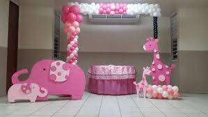 baby shower ideas girl pink safari baby shower party ideas photo 1 of 12 catch my party