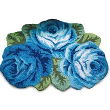 flower shaped throw rugs creative rugs decoration