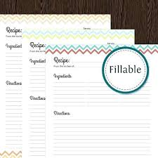 free printable recipe pages recipe template printable recipe blank template free printable home