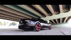 maserati granturismo convertible black black maserati granturismo convertible on red vellano wheels youtube