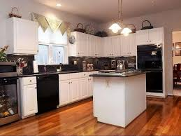 Kitchen Cabinets With White Appliances by Black Kitchen Cabinets With White Appliances Best Black Kitchen