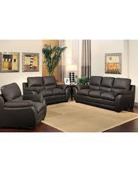 Leather Sofa Set On Sale On Sale Now 10 Off Abbyson Monarch 3 Piece Top Grain Leather