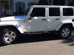 used white 4 door jeep wrangler buy used white jeep wrangler unlimited 4 door 4 wheel