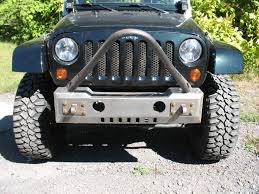 jeep front bumper affordable stinger non winch front bumper jeep wrangler jk u002707