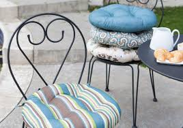 patio u0026 pergola cool round bistro chair cushions on small home