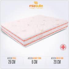 relaxsan materasso materasso in memory matrimoniale alto 28 cm materasso