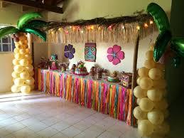 luau decorations hawaiana 79 ideas brillantes tiki hut hawaiian