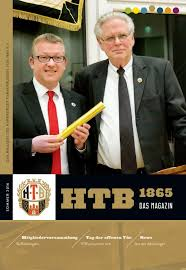 Dr Haupt Bad Schwartau 2016 02 Htb Magazin Htb 1865 By Harburger Turnerbund Von 1865 E V