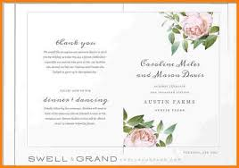 wedding program format 8 free printable wedding program templates word free invoice letter