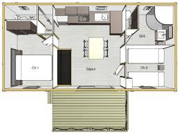 amenager cuisine salon 30m2 charmant cuisine avec snack bar 10 chalets conforts 4 personnes