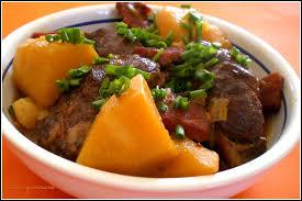 cuisiner joue de porc joues porc aux épices et pommes de terre confites au cidre cahier