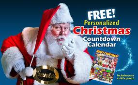 christmas countdown calendar free personalized christmas countdown calendar