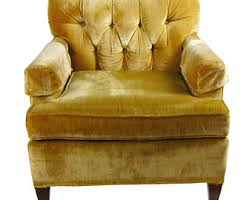 Tan Leather Accent Chair Accent Chair Etsy