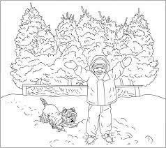 download coloring pages winter theme coloring pages winter
