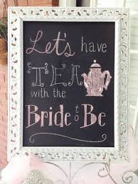 let u0027s have tea with the bride to be