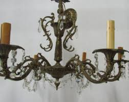 Shabby Chic Light Fixture by Shabby Chic Chandelier Etsy