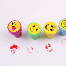 Vacuum Emoji by 10pcs Emoji Smile Silly Face Stamps Set Stationery For Kids Gift