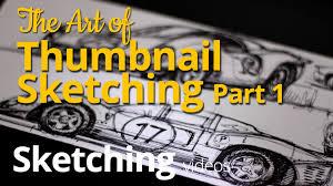the art of thumbnail sketching u2013 sketching a 1965 pontiac gto
