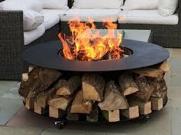 Firepit Logs Pit Logs Walmart Steel Home Depot Iron Duraflame Starters Gas