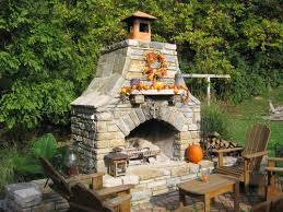 Backyard Stone Ideas by 25 Best Outdoor Fireplaces Trending Ideas On Pinterest Outdoor
