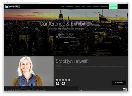 web templates website templates directory listing website theme 30 awesome wordpress themes for conference and event 2018 colorlib