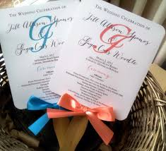 wedding fan programs templates 12 beautiful silhouette wedding program templates davidhowald