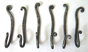 wrought iron wall mounted coat rack nucleus home