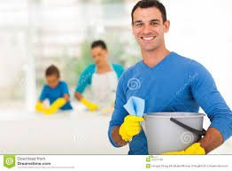 family cleaning stock photography image 7476212