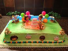 callie u0027s 3rd birthday cake idea she loves dora and diego publix