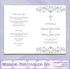 catholic wedding program template is template for catholic wedding program the most