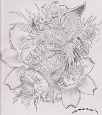 koi carp tattoo designs sleeve avatattoos