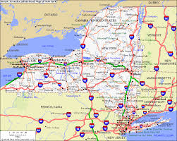 map new york road map new york major tourist attractions maps