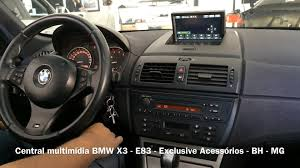 volante bmw x3 central multim祗dia bmw x3 e83 exclusive acess祿rios bh mg