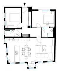 Studio Plans by Apartment 120 Sq Meters By M2 Design Studio