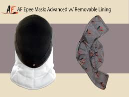 Removable by Af Epee Ce 350 N Mask Removable Absolute Fencing Gear Fencing