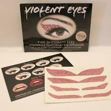 eyeliner tattoo violent eyes blushing basics glam eye products review