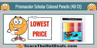prismacolor scholar colored pencils lowest price prismacolor scholar colored pencils 48 ct only