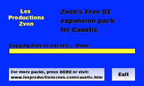 caustic 3 unlock key apk caustic free pack 02 apk free audio app for