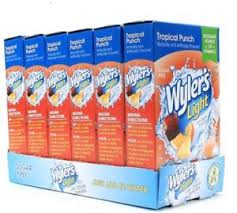 wyler s light singles to go nutritional information 6 wyler s light sugar free tropical punch singles to go drink mix 8