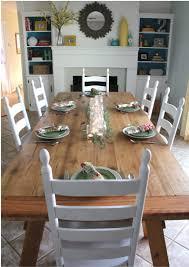 farmhouse dining room tables diy farmhouse dining table