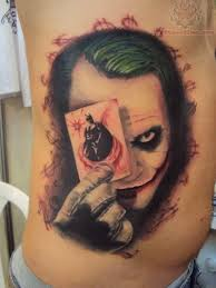 why so serious joker tattoo design