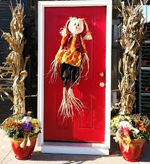 Corn Stalk Decoration Ideas Outdoor Fall Decorating Ideas The Home Depot Community