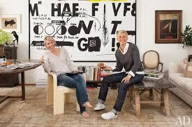 Ellen Degeneres Home Decor Ellen Degeneres And Portia De Rossi U0027s Rustic Residence In