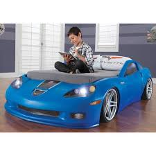 step2 corvette toddler to bed with lights product